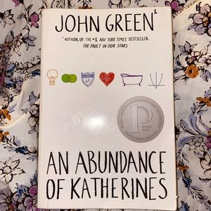 An Abundance of Katherines Book by John Green